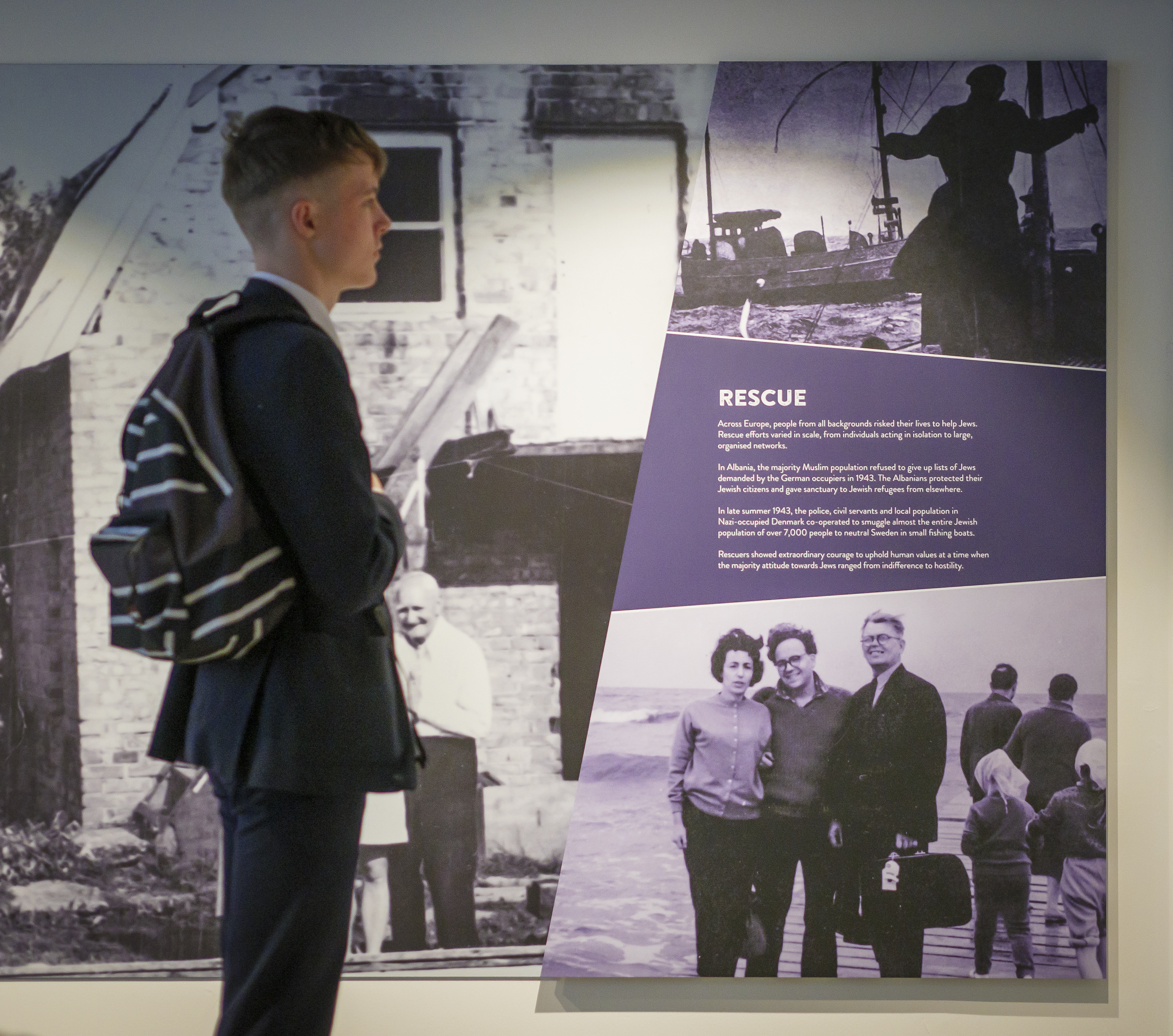 The Holocaust Exhibition and Learning Centre 13