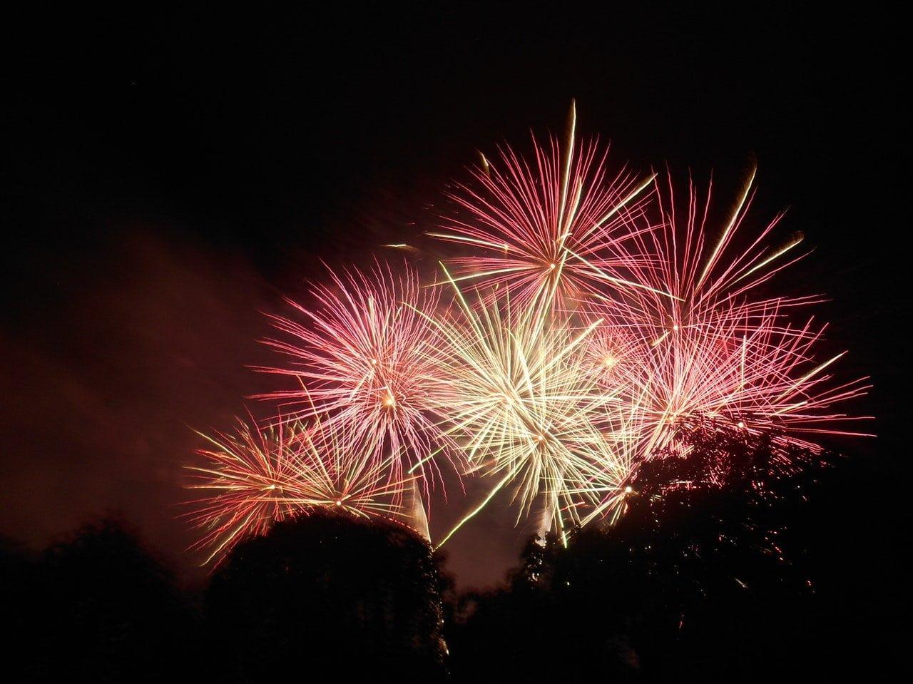 Bonfire and Fireworks 8