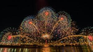 Fireworks Night at Cassiobury Park