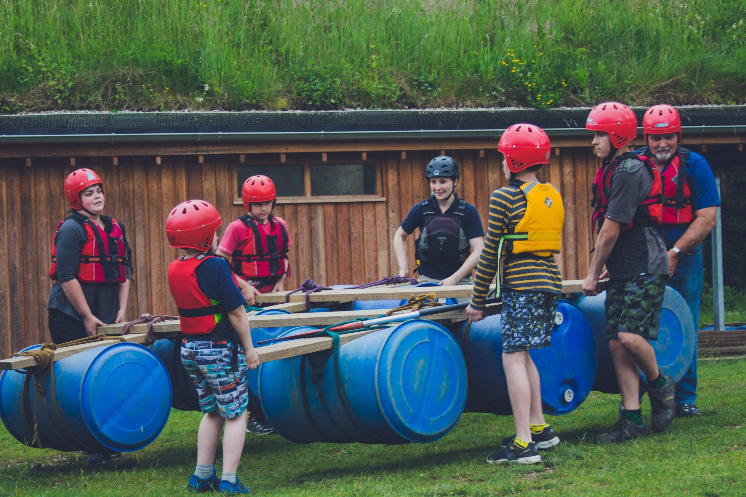 Avon Tyrrell, UK Youth Outdoor Activity Centre 1