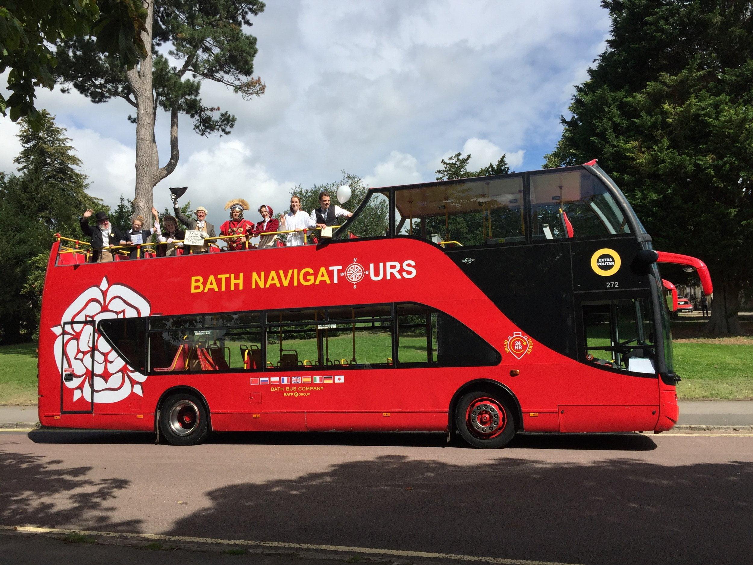 Bath Open Top Tours 6