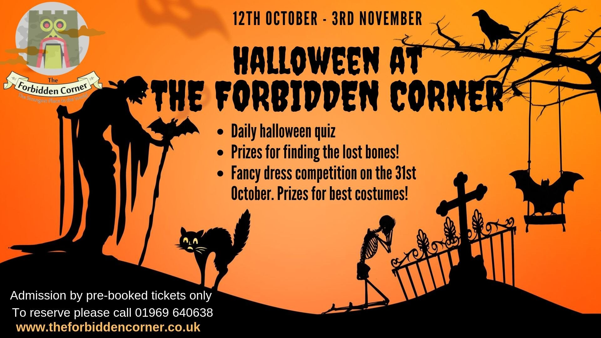 Halloween Special - Where To Scare Those Little Horrors This Halloween  6