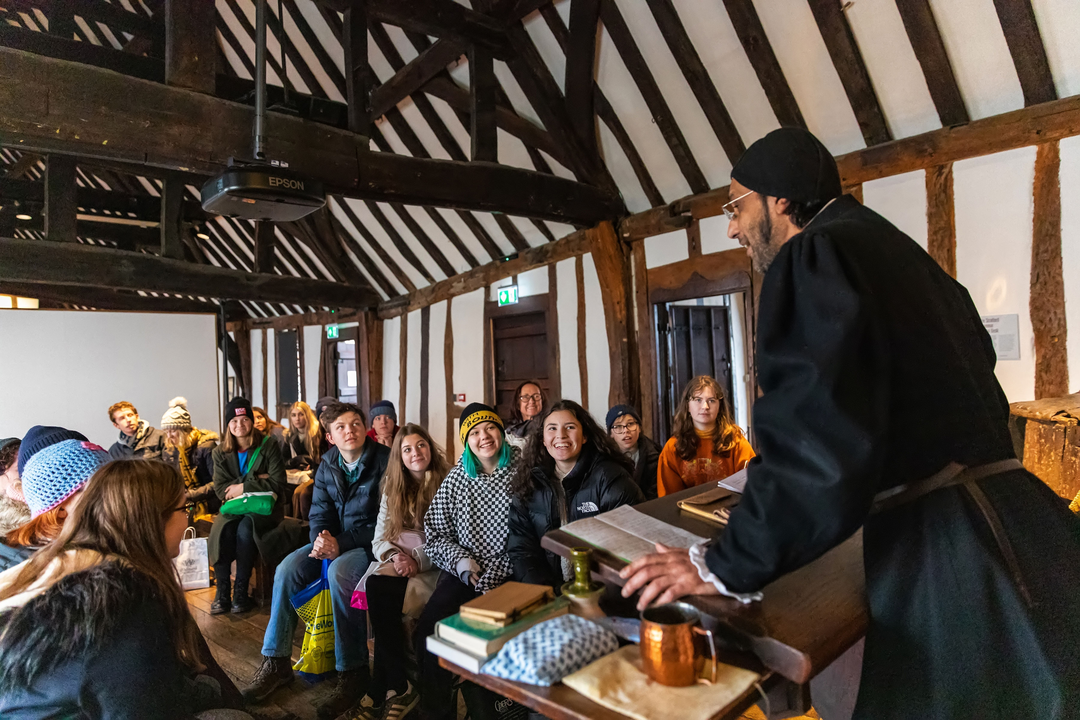Shakespeare's Schoolroom and Guildhall 4