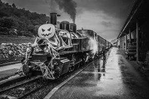 The Ghost Train Through the Countryside 2
